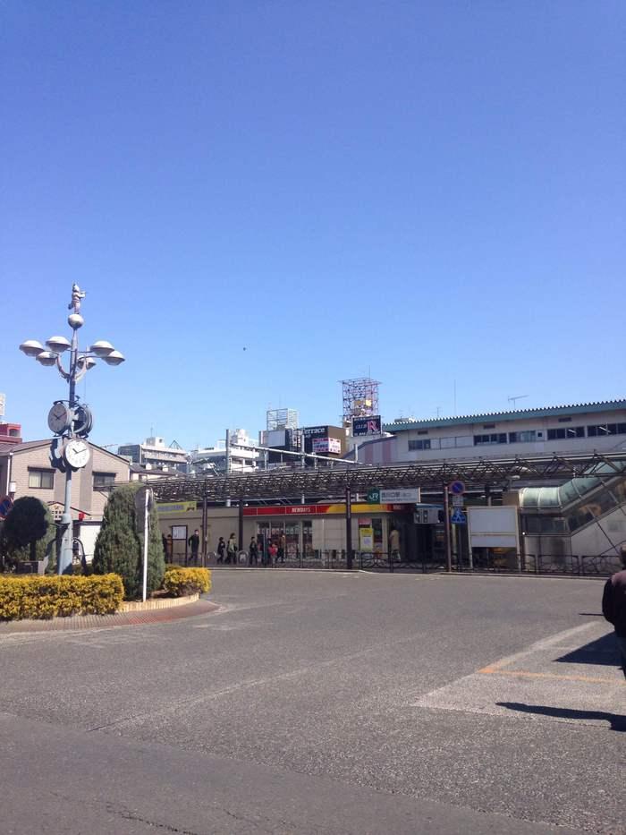 西川口駅西口‼️