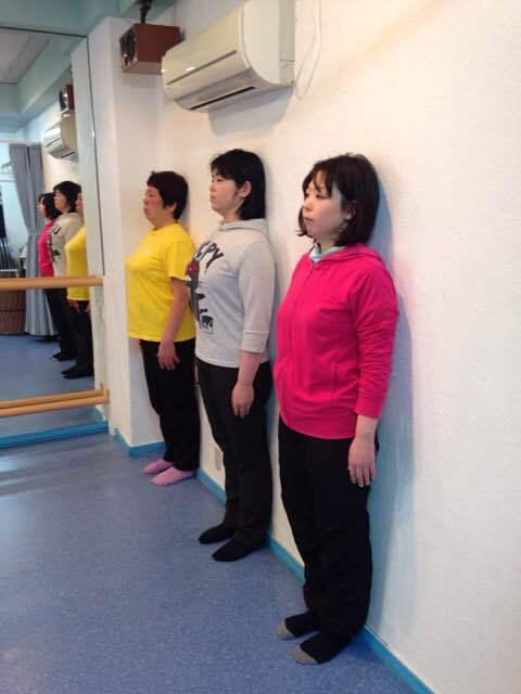うちの生徒はみんな姿勢が綺麗です!